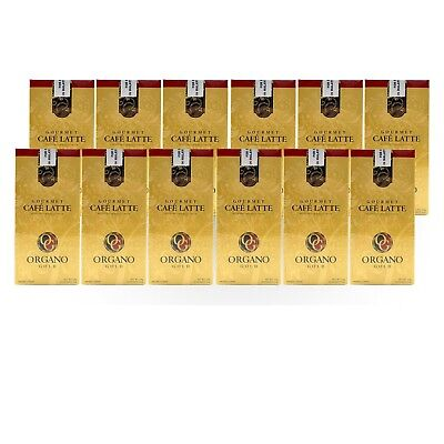 30 BOXES ORGANO GOLD GOURMET CAFE LATTE - FREE EXPRESS SHIPPING + FREE GIFT