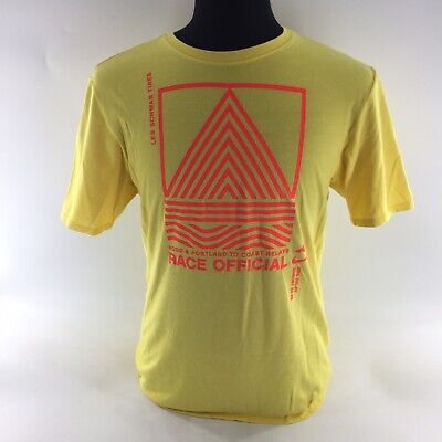 - Nike Dri Fit T-Shirt Hood & Portland Coast Yellow Graphic Tee Sz Large S2A