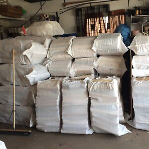 *Free Delivery*5 Huge 95lb Bags Campfire Pine Firewood $125