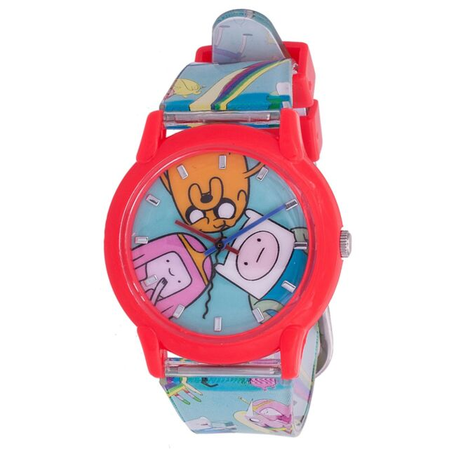 Adventure time watch in deadpool movie 2016 analog wristwatch red ebay for Adventure watches