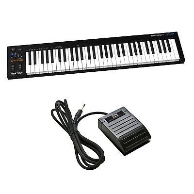 Nektar Impact Gx61 Usb Keyboard Controller Bonus Pak