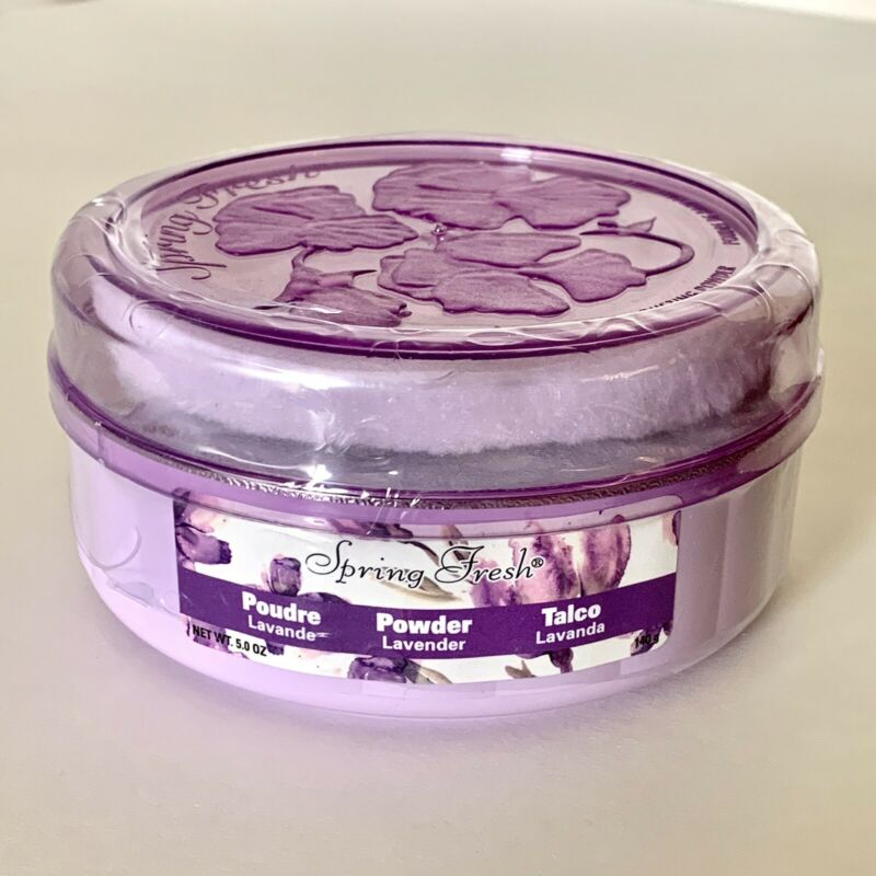 Spring Fresh Lavender Sealed Perfumed Dusting powder