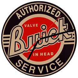 8 WALL CLOCK - Vintage Looking Sign Garage #2 Buick Service Mechanic Car Retro
