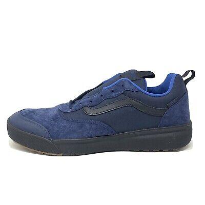 Vans Ultrarange Dress Blues Men's 13 Skate Shoes New Black Navy Blue