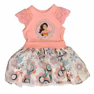 Disney Princess Dress for Girls - Cap Sleeve - Elena of Avalor Size 5 NWT](Disney Dress For Girls)