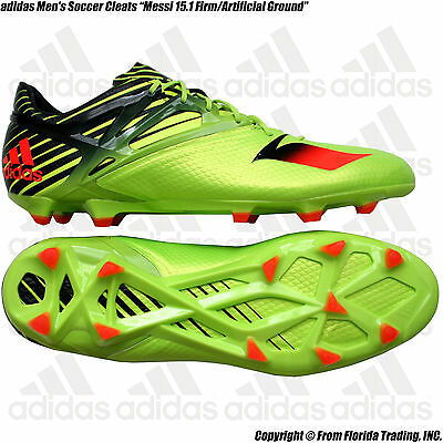 Adidas Messi 15.1 FG//AG Men/'s Soccer Cleats Style S74679 MSRP $200