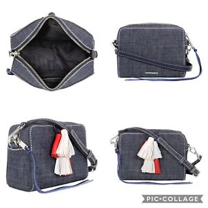 Designer Rebecca Minkoff Sofia Ladies Small Denim Crossbody