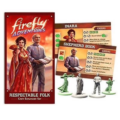 Firefly Spielzeug (Firefly Abenteuer Respektable Folk Crew Erweiterung Set Buch & Inara FADV02)