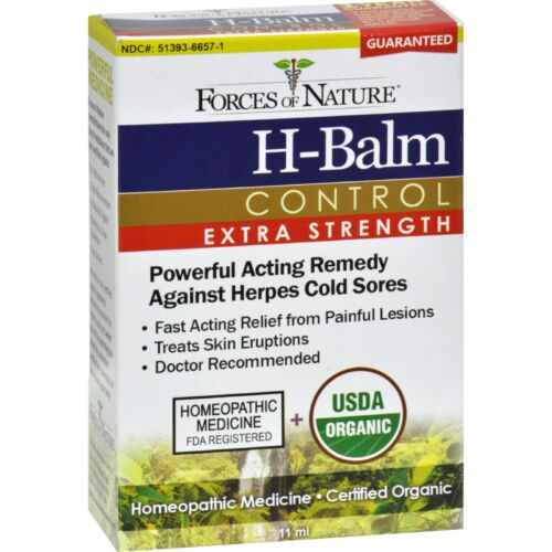 Forces of Nature H-Balm Herpes and Cold Sore Treatment Extra