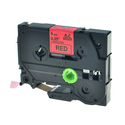 Black On Red Label Tape For Brother Tze-421 Tz Tze421 9mm Pt-p700 Pt-p750w 1800