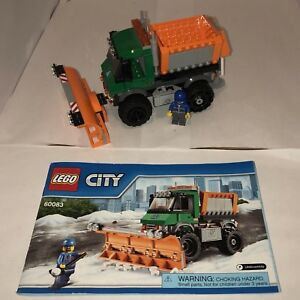Lego City - Snowplow Set 60083 EUC