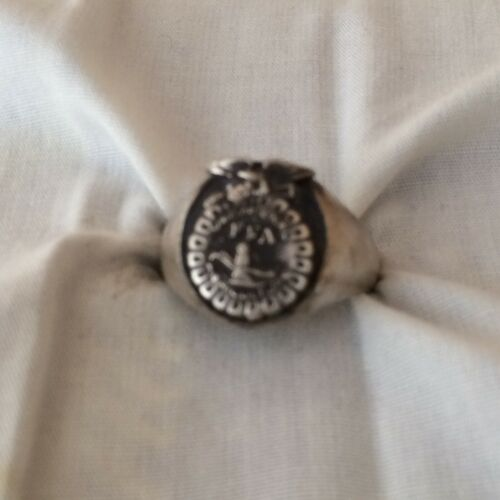 VTG Sterling Silver Future Farmers of America ring size-12       130