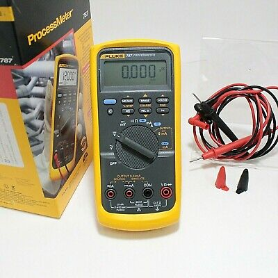 Fluke 787 Processmeter Bundle Good Condition W Leads And Box