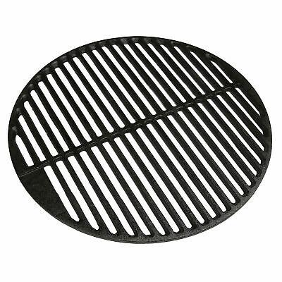 Grillrost aus Gusseisen Ø45 cm emailliert rund BBQ Kugelgrill guss Streifen
