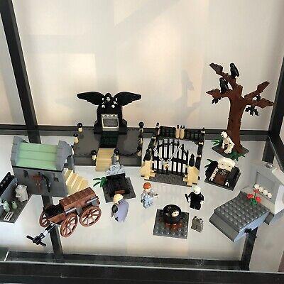 LEGO Vintage Harry Potter Rare Set Graveyard Duel 4766 - 98% Complete