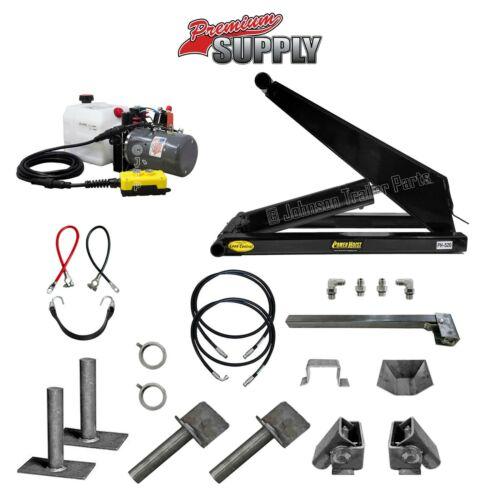 10 Ton Hydraulic Scissor Hoist Kit - Dump Trailer PH520 Power Hoist