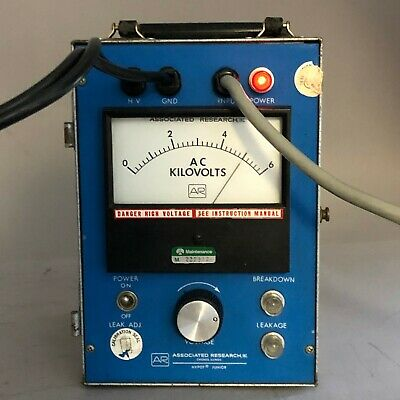 Ar Associated Research 414 Ac Hypot Junior Dielectric Strength Tester