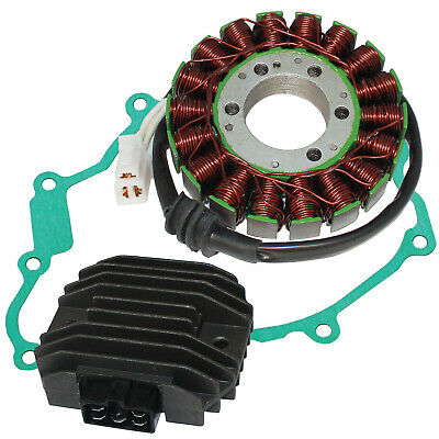 Stator And Regulator Rectifier W/Gasket for Yamaha YZF-R6 YZF R6 2003-2005