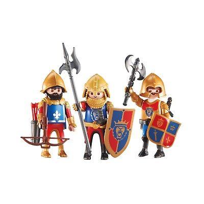 Playmobil 3 Royal Lion Knights Building Set 6379 NEW Toys Kids Educational