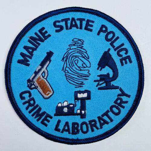 Maine State Police Crime Laboratory Patch