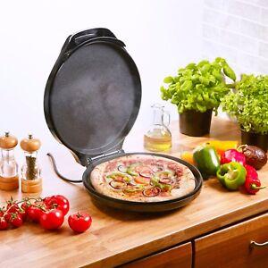 Heska - Electric Pizza Maker & Multi Cooker, Breakfast Crepe & Pancake 1450W