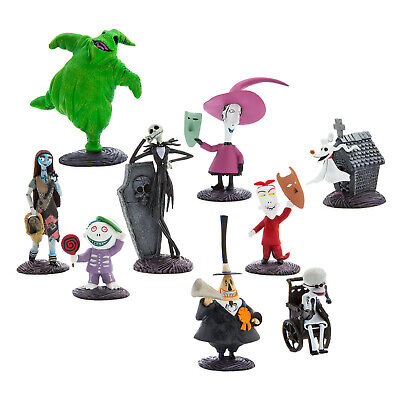 Halloween Nightmare Before Christmas Cakes (DISNEY Nightmare Before Christmas DELUXE Figure PLAYSET Cake Topper)