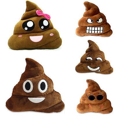 Poop Poo Family Emoji Emoticon Pillow Stuffed Sofa Plush Toy School Soft Cushion](Poop Emoticon Pillow)