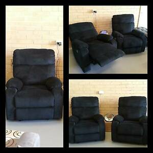 Two For $999 Brand New Deluxe Micro Suede Electric Recliners Bayswater Bayswater Area Preview
