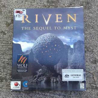 Windows 95 computer game--RIVEN (Sequel to MYST)