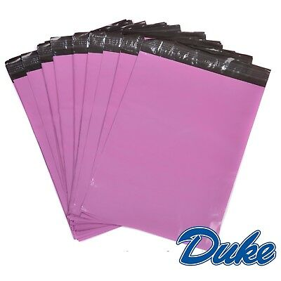 50 x Strong Large PINK Postal Mailing Bags Sacks 12x16