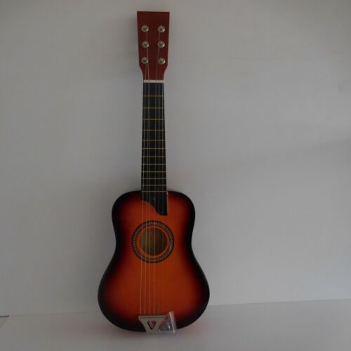 N1734 Guitar Classique 6 Strings Metal Crate Wood Vintage Design 20th PN France