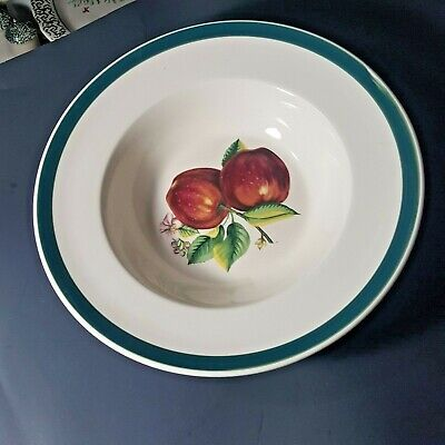 China Pearl Fine APPLES (CASUALS) Round Vegetable Bowl , Wide Rim,  12