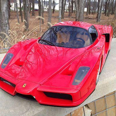 -RARE- Ferrari Enzo 1:5 Model -HUGE- LTD Edition BELL S.P.O.R.T.S.  Restoration
