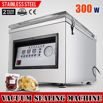 Digital  Vacuum Packing Sealing Machine Sealer 300w Storage Commercial 110v