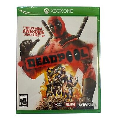 BRAND NEW FACTORY SEALED MARVEL DEADPOOL MICROSOFT XBOX ONE 2015 FREE SHIPPING