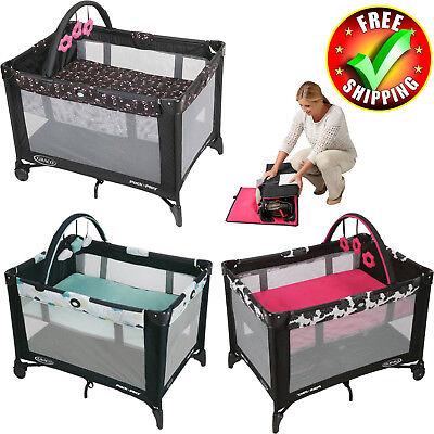 Baby Trend Playard Nursery Center Bassinet Pack N Pen Storage Toys Play Yard New Baby Trend Play Yard