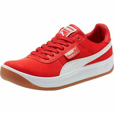 PUMA CALIFORNIA CASUAL ATHLETIC SPORTS SNEAKER MEN SHOES RED/WHITE SIZE 10.5 NEW