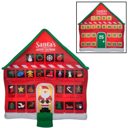 Lighted Inflatable Advent Calendar Christmas yard Decoration NEW