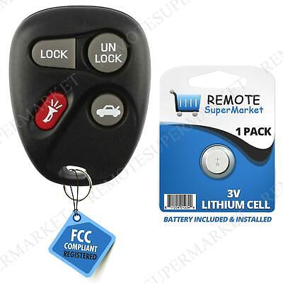 Replacement for 2000-2004 Saturn L LS LW 100 200 300 Remote Car Keyless Key Fob