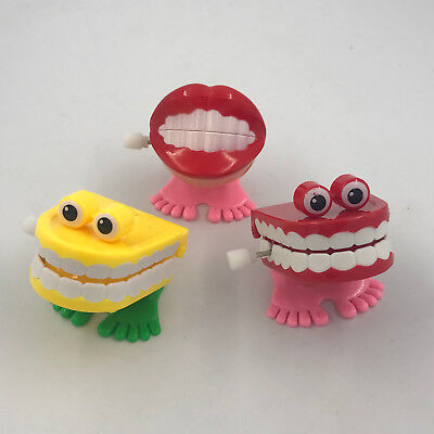 10pcs Dental Gift Dental Toys Plastic Toys Jump Teeth With Chain For Children