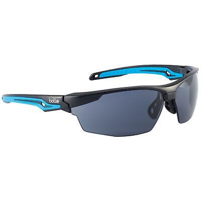 Bolle Tryon Safety Glasses With Smoke Platinum Anti-fog Lens