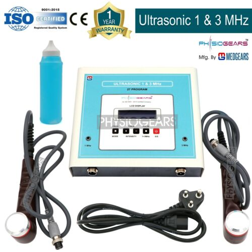 MEDGEARS 1 Mhz & 3 Mhz  Ultrasound Ultrasonic Therapy Pain Relief Therapeutic