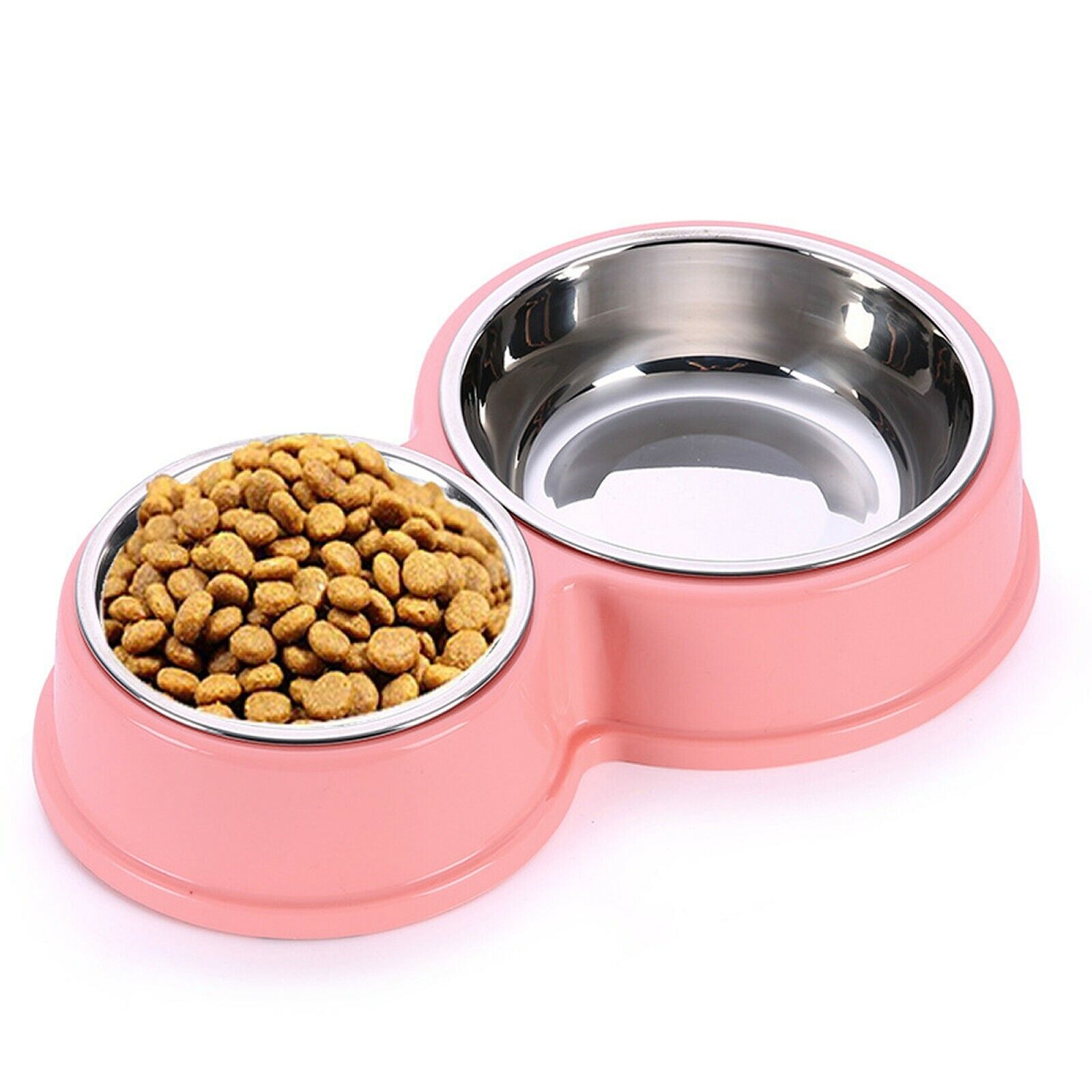 PETnSport Pet Bowl Dog Bowl for Small Dogs and Cats Double Bowl Pet Feeder