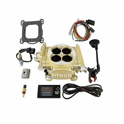 Fitech 30005 Gold Easy Street 600 HP EFI Fuel Injection Throttle Body System