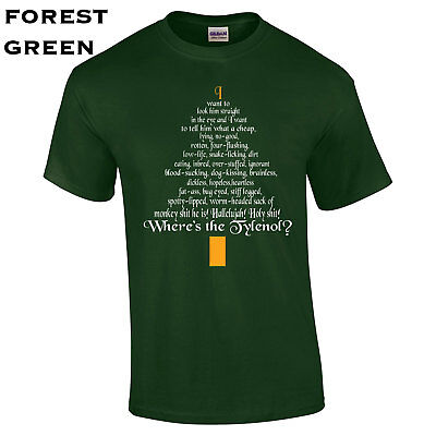 398 Christmas Tree Clark Rant Mens T Shirt College Funny Vacation Holiday Cool