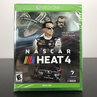 NASCAR Heat 4 (Xbox One, 2019) - NEW