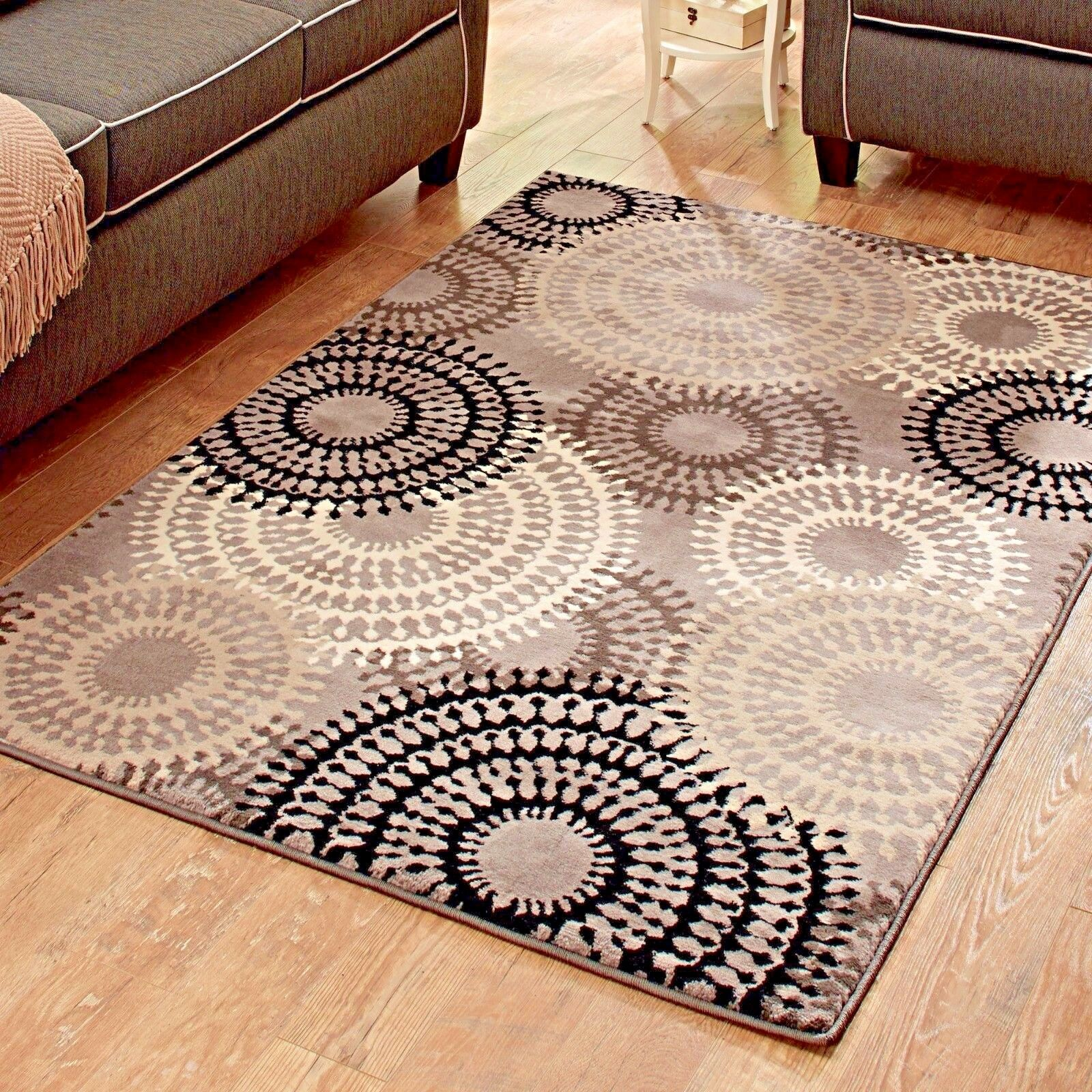Rugs Area Rugs Carpets 8x10 Rug Big Floor Grey Modern Cute