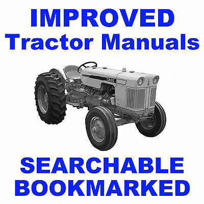 Ji Case 430 530 630 Series Tractor Tractors Maintenance Shop Service Manual Cd