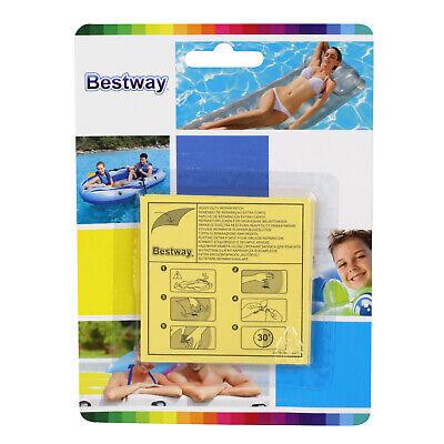 Bestway Pool Reparaturset 10 Reparaturflicken Luftmatratzen selbstklebend