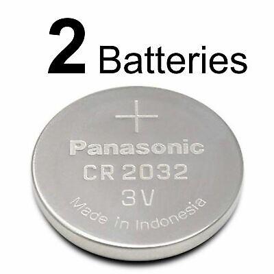 2 PANASONIC CR2032 CR 2032 3v Lithium Battery Expiration Date 2028 comprar usado  Enviando para Brazil